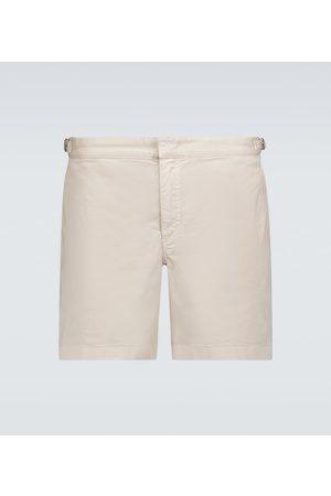 Orlebar Brown Bulldog cotton twill swim shorts