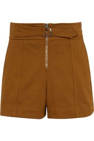 Chloé High-rise cotton shorts