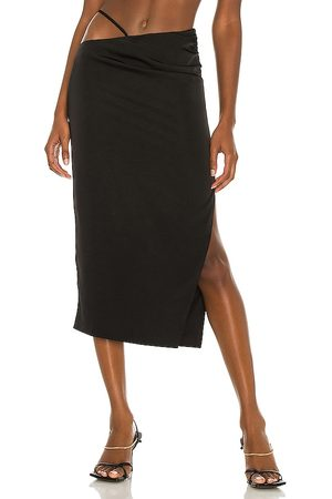 h:ours Sonnie Midi Skirt in . Size XXS, XS, S, M, XL.