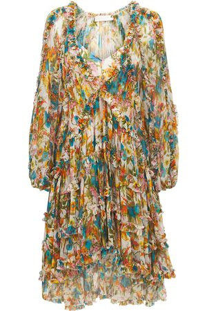 ZIMMERMANN Exclusive Estelle Silk Mini Dress