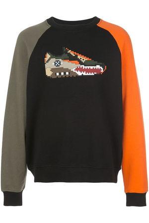 Mostly Heard Rarely Seen 8-Bit Men Sweatshirts - Falcon tri-colour sweatshirt