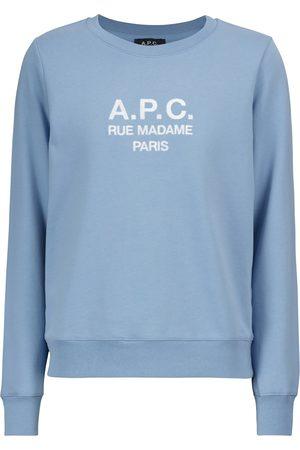 A.P.C. Tina logo cotton sweatshirt