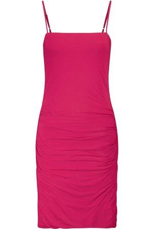 Velvet Dale stretch-cotton jersey minidress