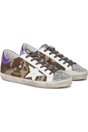 Golden Goose Exclusive to Mytheresa – Superstar camouflage sneakers
