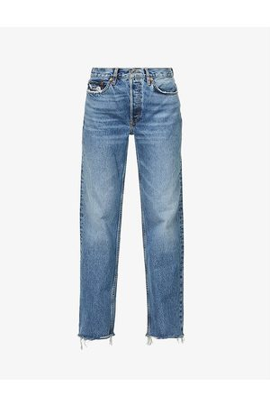 Re/done 90s Comfy straight-leg high-rise jeans