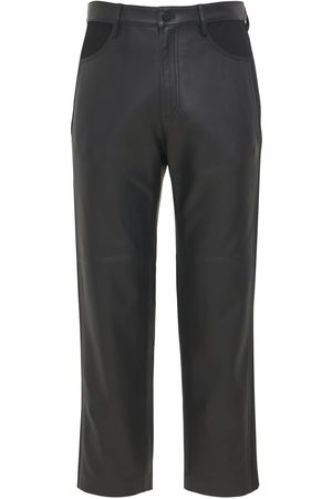 DION LEE Men Trousers - Leather Trousers