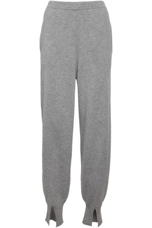 THEORY Women Trousers - Cashmere Jogging Pants W/ Slits