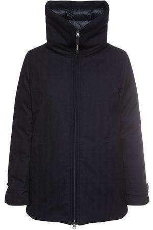 Aspesi Technical Wool Down Jacket