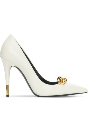 Tom Ford Women Heels - 105mm Iconic Chain Leather Pumps