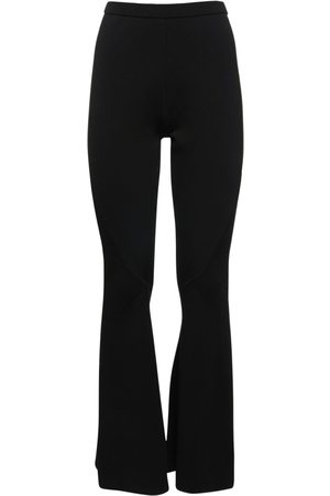 DION LEE Women Trousers - Collage Rib Knit Jersey Pants