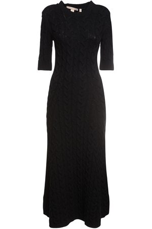 BROCK COLLECTION Women Knitted Dresses - Cashmere Blend Cable Knit Long Dress