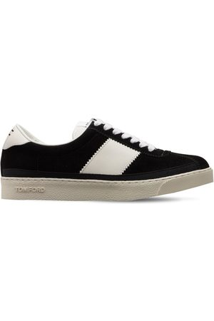 Tom Ford Women Trainers - 20mm Bannister Suede Sneakers