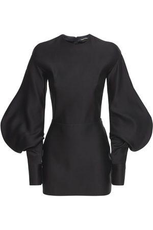 Tom Ford Women Dresses - Double Silk Duchesse Mini Dress
