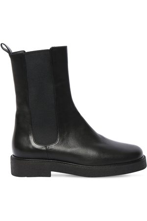 Staud Women Ankle Boots - 35mm Palamino Leather Ankle Boots