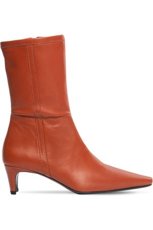 Staud Women Ankle Boots - 50mm Lars Leather Ankle Boots