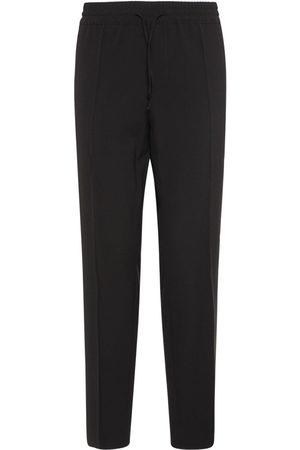 VERSACE Men Formal Trousers - Straight Wool Jogging Pants