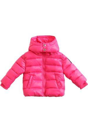 Diesel Girls Jackets - Hooded Nylon Puffer Jacket