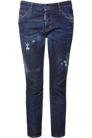 Dsquared2 Girls Straight - Cool Girl Straight Denim Jeans
