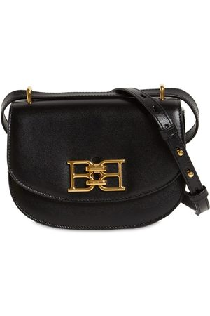 Bally Women Shoulder Bags - Mini Baily B-chain Leather Shoulder Bag