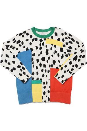 Stella McCartney Organic Cotton & Wool Blend Knit Sweater