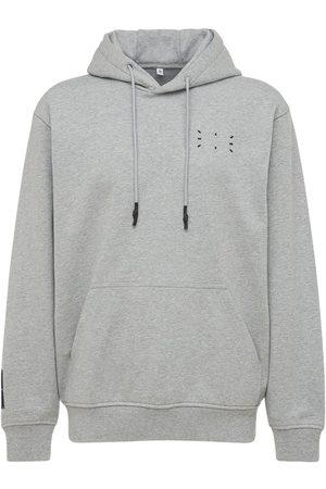 McQ Men Sweatshirts - Icon Zero Logo Cotton Sweatshirt Hoodie
