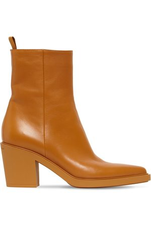 Gianvito Rossi Women Ankle Boots - 60mm Dylan Leather Ankle Boots