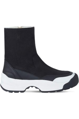 Kenzo 50mm Work Leather Ankle Boots
