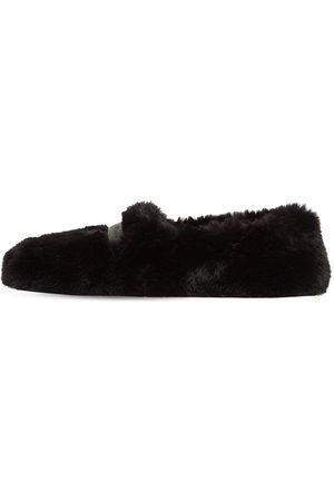 Gianvito Rossi Women Loafers - 10mm Faux Shearling Loafers