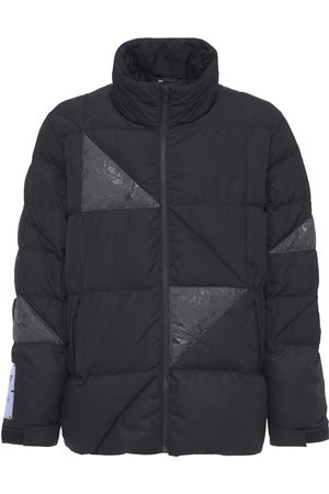 McQ Men Outdoor Jackets - In Dust Wax Patched Puffer Jacket