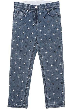 Stella McCartney Embroidered Stars Stretch Jeans