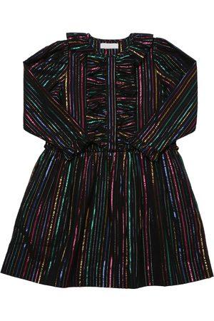 Stella McCartney Striped Lurex Cotton Dress