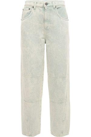 McQ Breathe Slit High Waisted Jeans