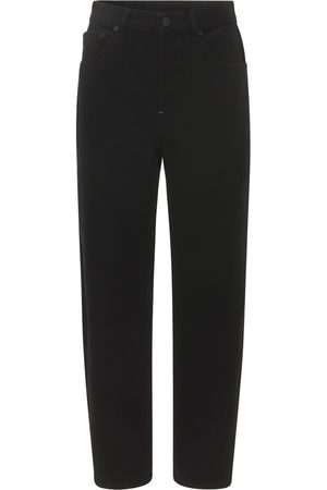 McQ Women Jeans - Icon 0 Curved Recycled Cotton Jeans