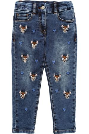 MONNALISA Women Stretch - All Over Bambi Stretch Jeans