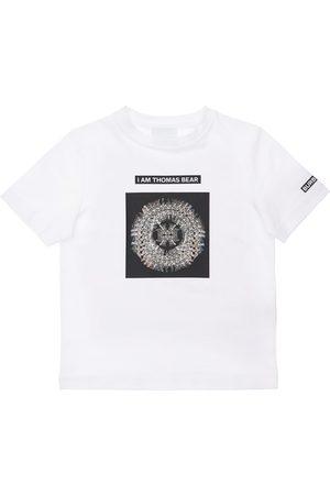 Burberry Boys T-shirts - Printed Cotton Jersey T-shirt