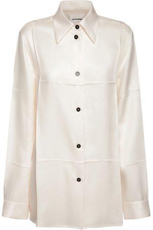 Jil Sander Women Shirts - Fluid Cupro Twill Shirt