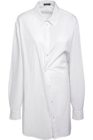 ANN DEMEULEMEESTER Do Oversized Cotton Poplin Shirt