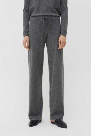 Chinti & Parker UK Wide Leg Trousers - Cashmere Wide-Leg Pants