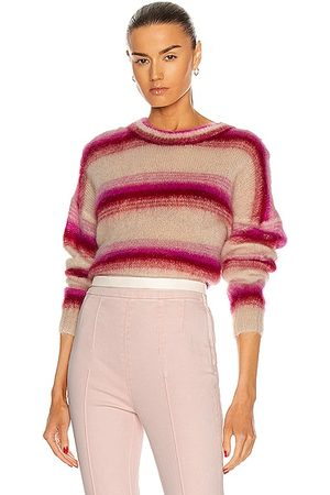 Isabel Marant Drussell Sweater in Fuchsia