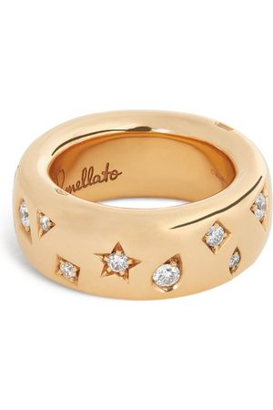 Pomellato Women Rings - Rose Gold and Diamond Iconica Ring (Szie 47-60)