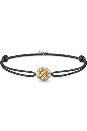 Thomas Sabo Mens Yellow Gold Coloured Cubic Zirconia 16-27cm Bracelet