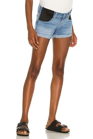 Paige Jimmy Jimmy Maternity Short With Elastic Waistband in . Size 25, 26, 27, 28, 29, 30, 31, 32.