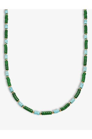 Missoma Women Necklaces - Multi-coloured 18ct yellow -plated brass