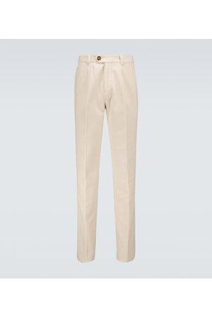 Brunello Cucinelli Men Trousers - Corduroy cotton pants