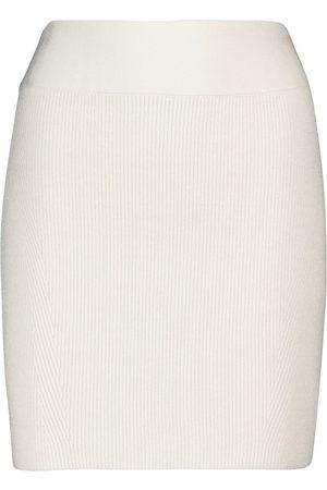 GALVAN Women Mini Skirts - Ribbed miniskirt