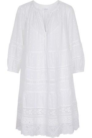 Velvet Dorothy lace-insert cotton dress
