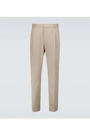 Loro Piana City cotton and wool-blend pants