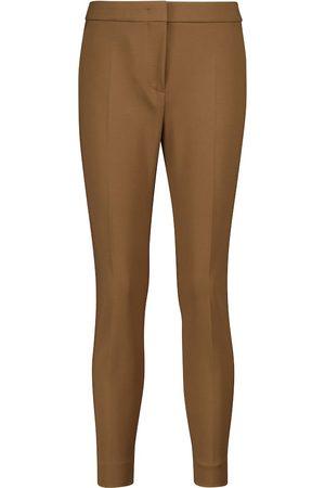 Max Mara Pegno stretch-jersey slim pants