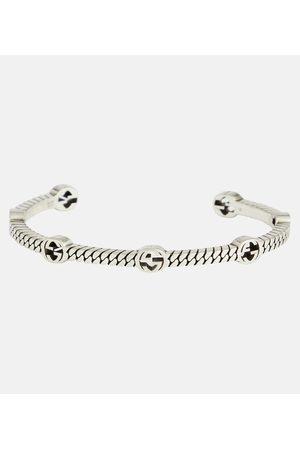 Gucci GG sterling cuff bracelet