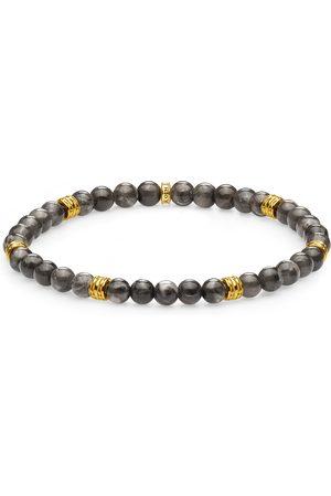 Thomas Sabo Mens Yellow Gold Coloured Bead 19cm Bracelet